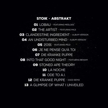 STOIK - ABSTRAKT CD - Digipak